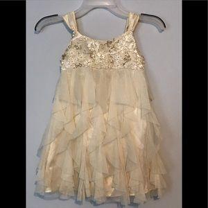 Biscotti girls size 6 holiday dress